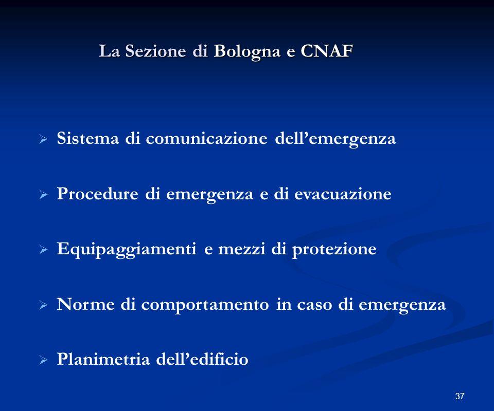 La Sezione di Bologna e CNAF