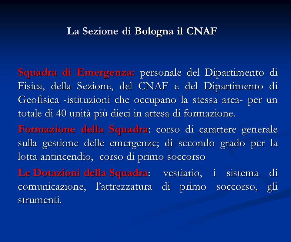 La Sezione di Bologna il CNAF