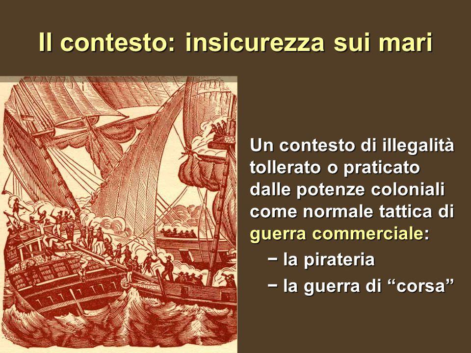 Il contesto: insicurezza sui mari