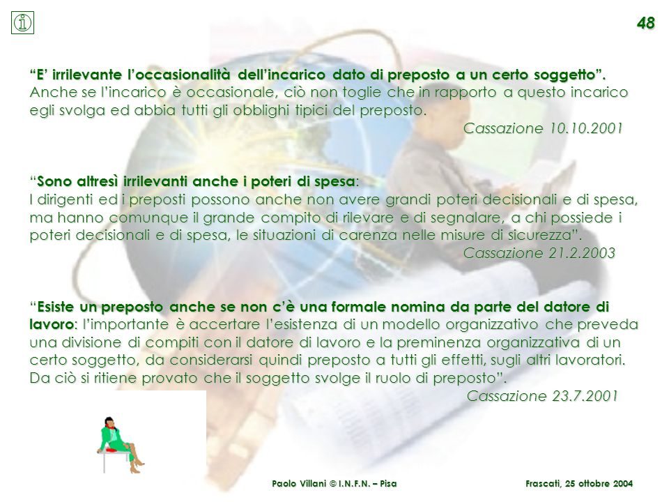 Paolo Villani © I.N.F.N. – Pisa