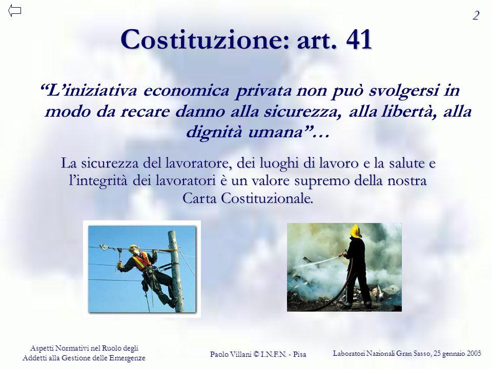 2 Costituzione: art. 41.