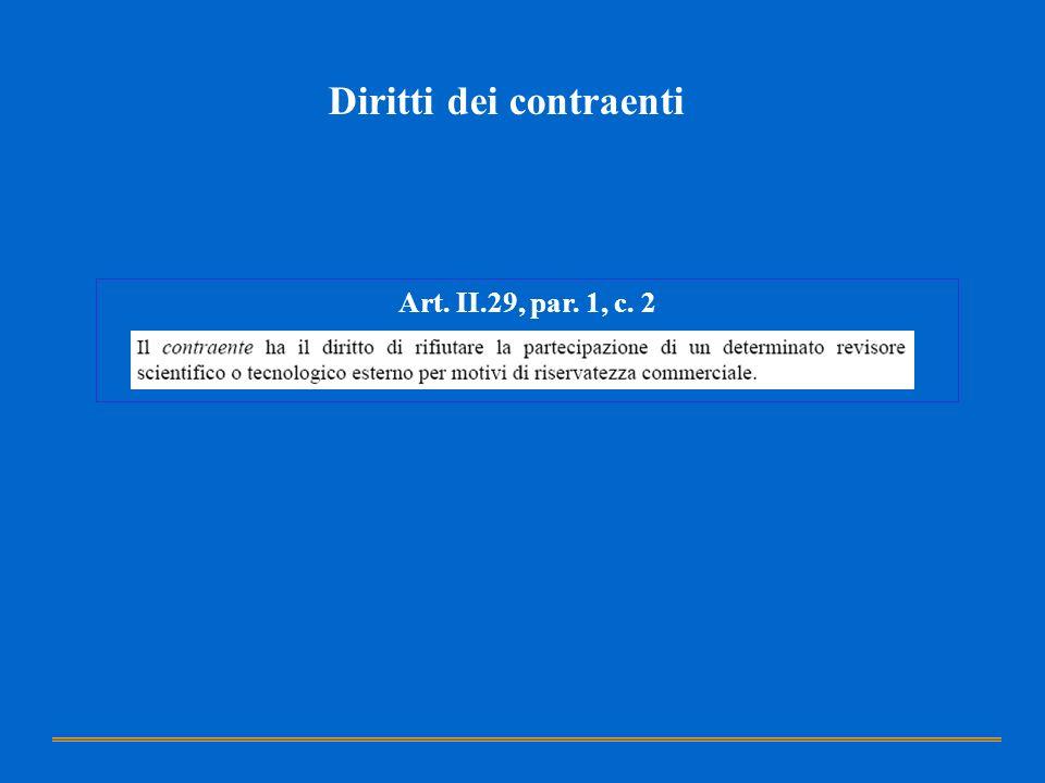 Diritti dei contraenti