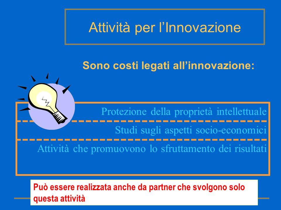 Attività per l'Innovazione