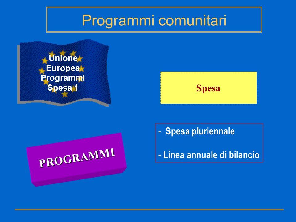 Unione Europea Programmi
