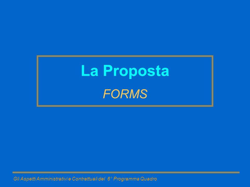 La Proposta FORMS