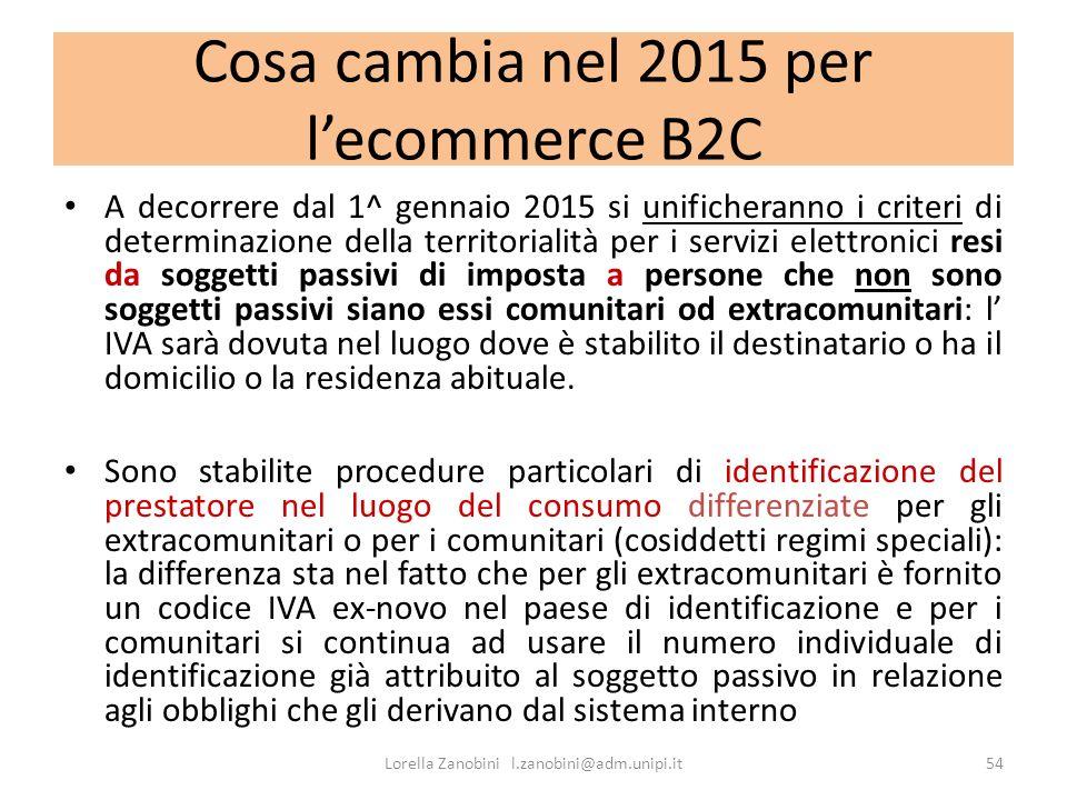 Cosa cambia nel 2015 per l'ecommerce B2C