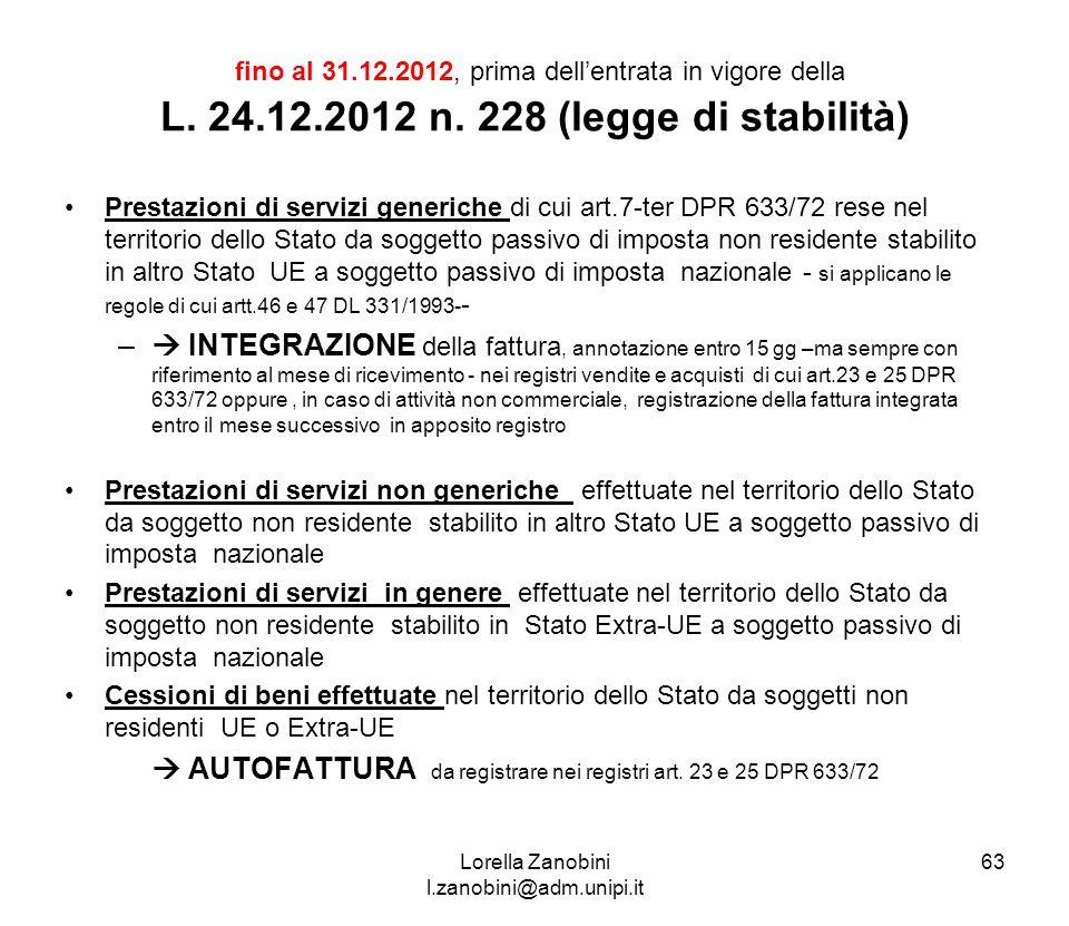 Corso infn genova 3 4 giugno ppt scaricare for Prestazioni di servizi extra ue