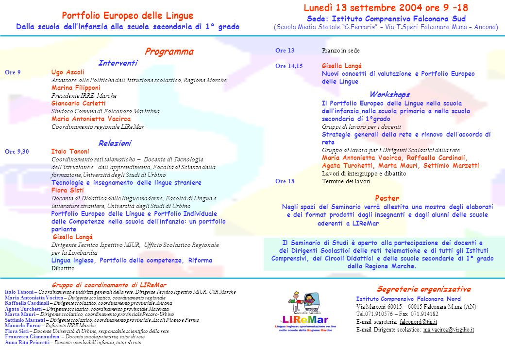 I 39 m a child of the world portfolio europeo delle lingue for Ufficio 9 miur
