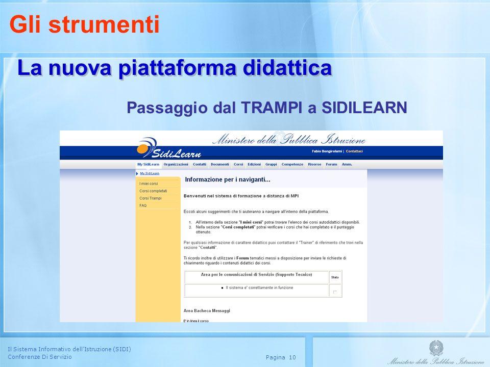 Gli strumenti La nuova piattaforma didattica