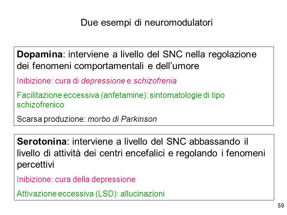 Due esempi di neuromodulatori
