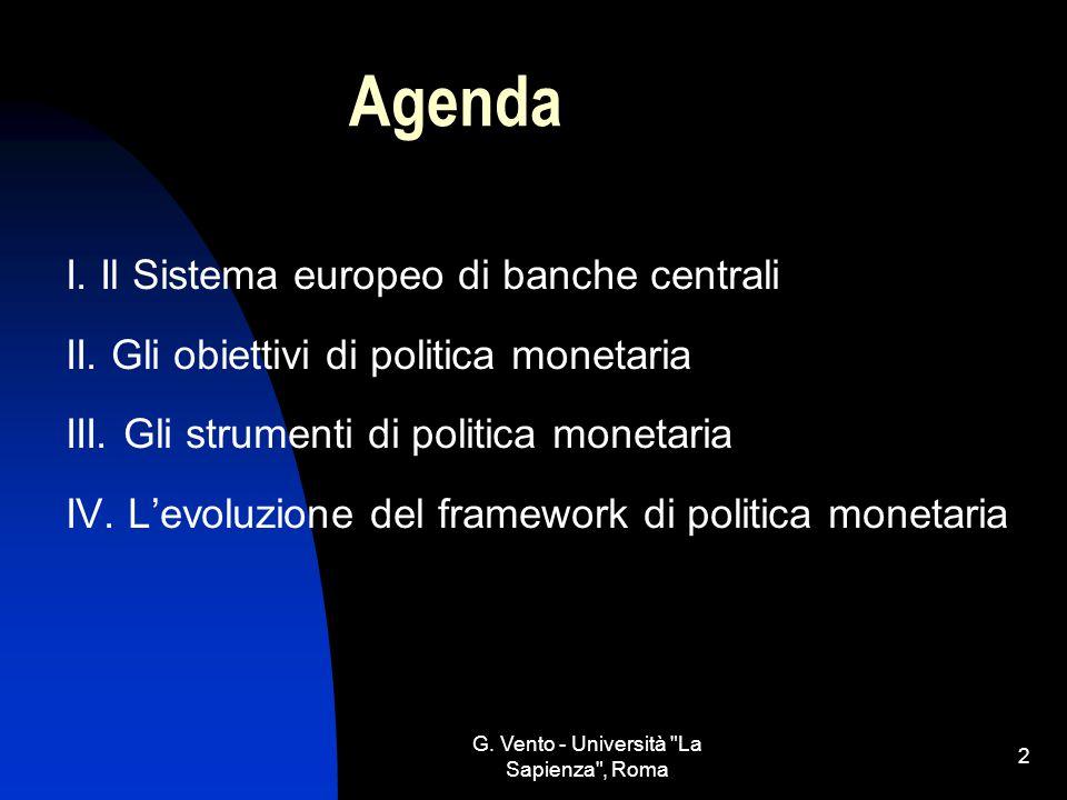 G. Vento - Università La Sapienza , Roma