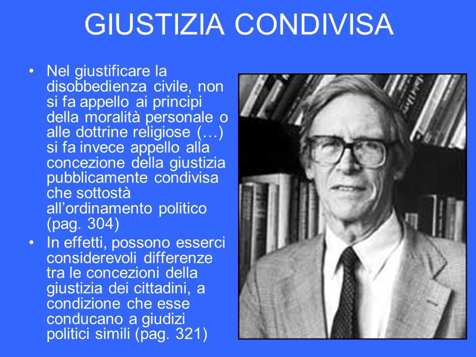 GIUSTIZIA CONDIVISA
