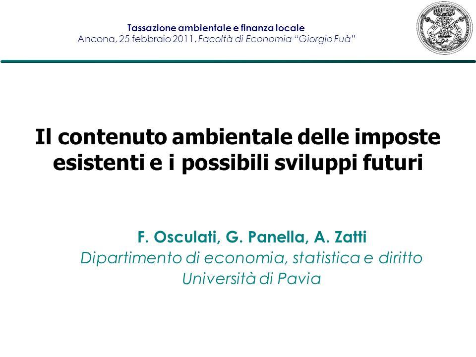 F. Osculati, G. Panella, A. Zatti