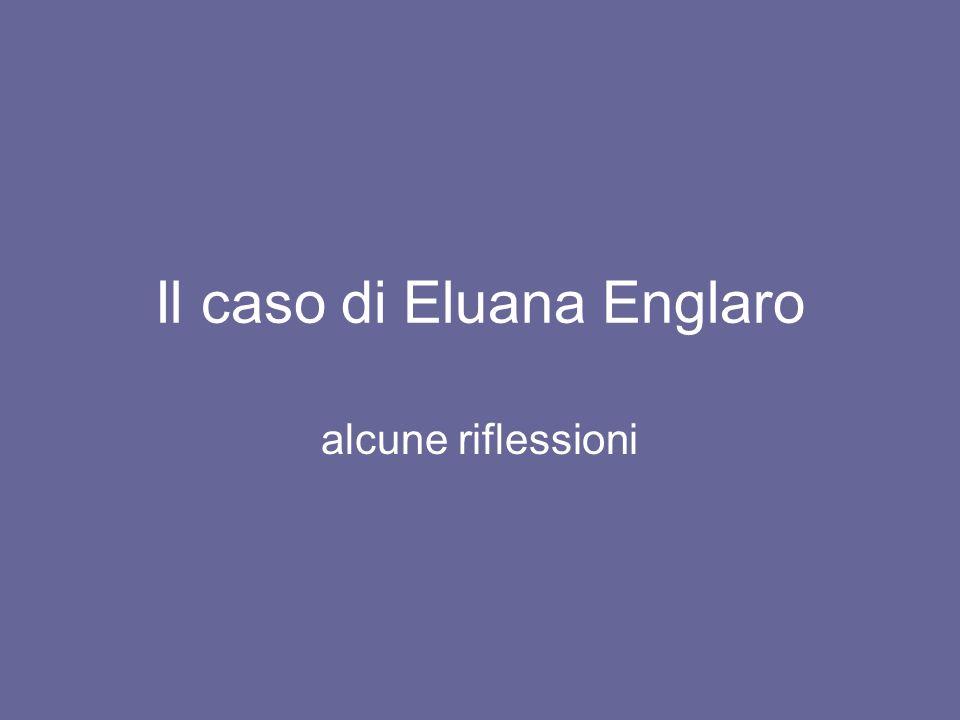 Il caso di Eluana Englaro