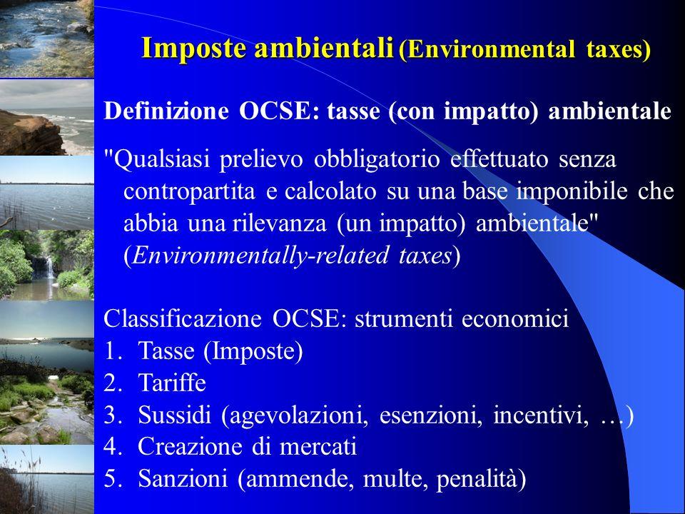 Imposte ambientali (Environmental taxes)