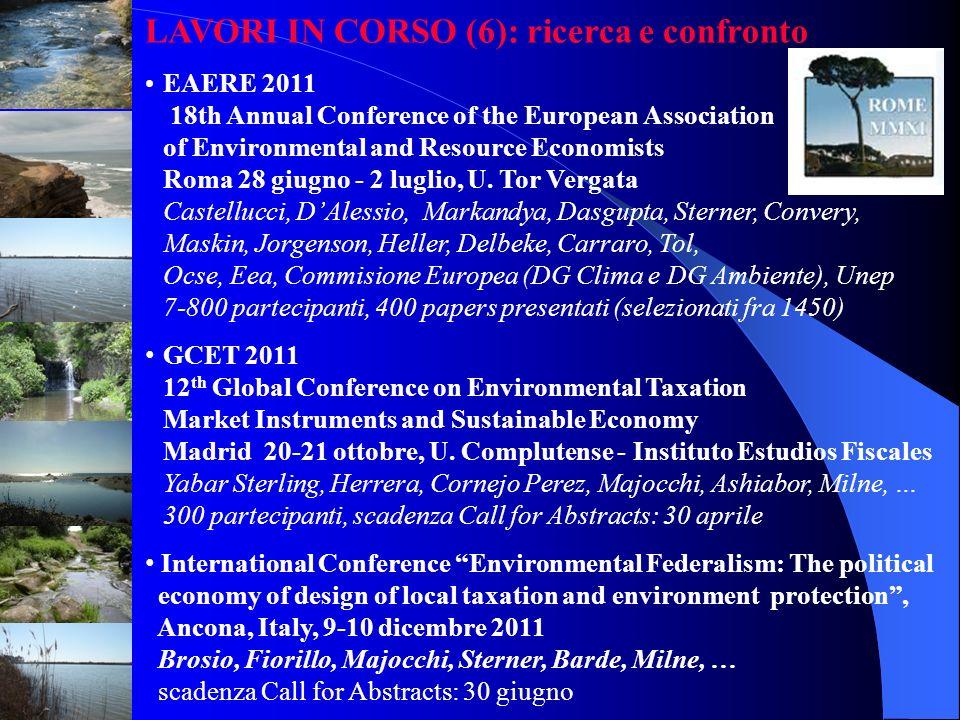 LAVORI IN CORSO (6): ricerca e confronto