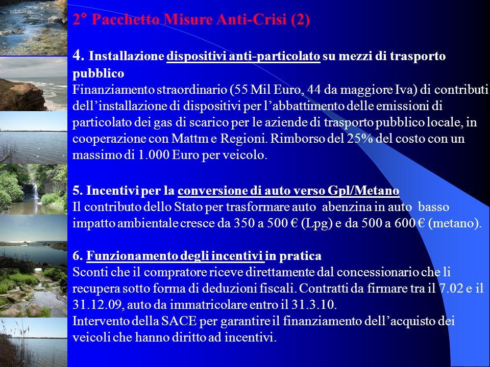 2° Pacchetto Misure Anti-Crisi (2)