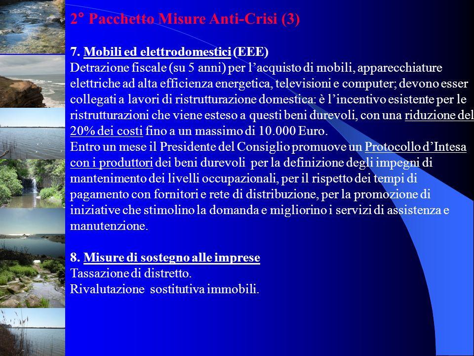 2° Pacchetto Misure Anti-Crisi (3)