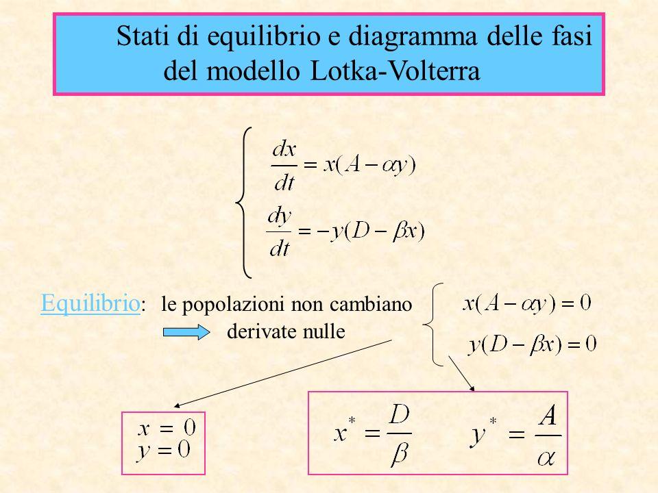 del modello Lotka-Volterra