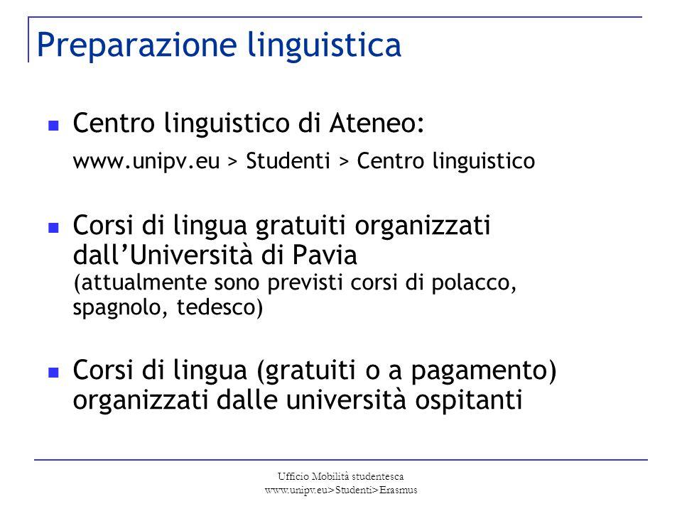 Preparazione linguistica