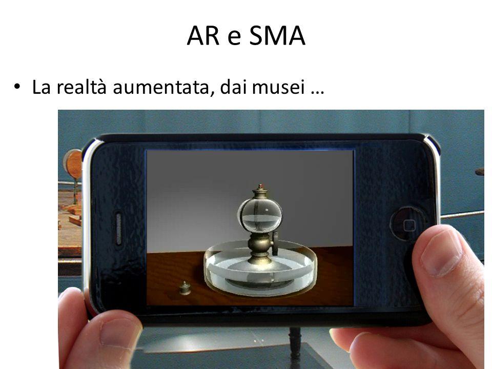 Open Day AR e SMA La realtà aumentata, dai musei …