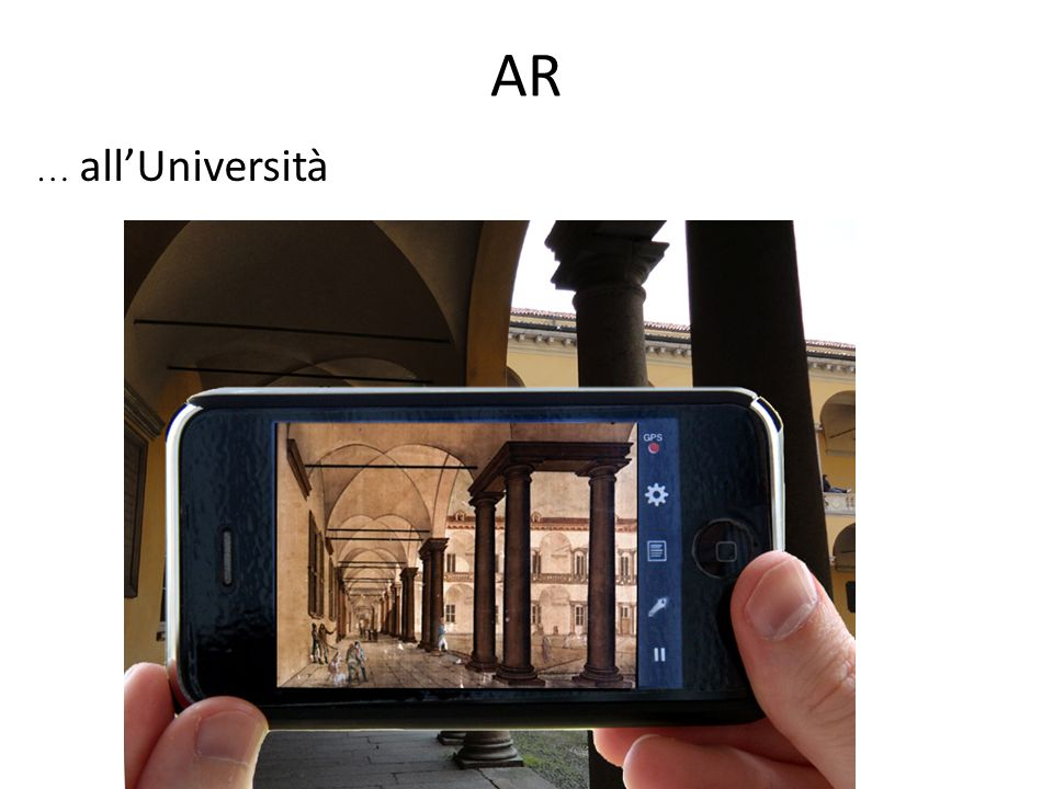 AR … all'Università