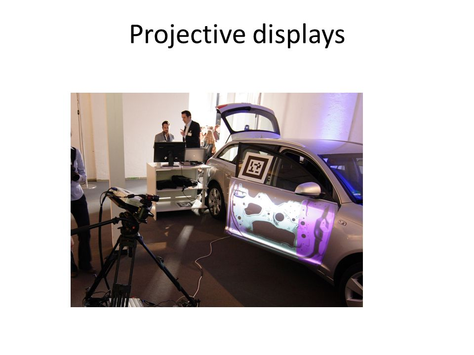 Projective displays