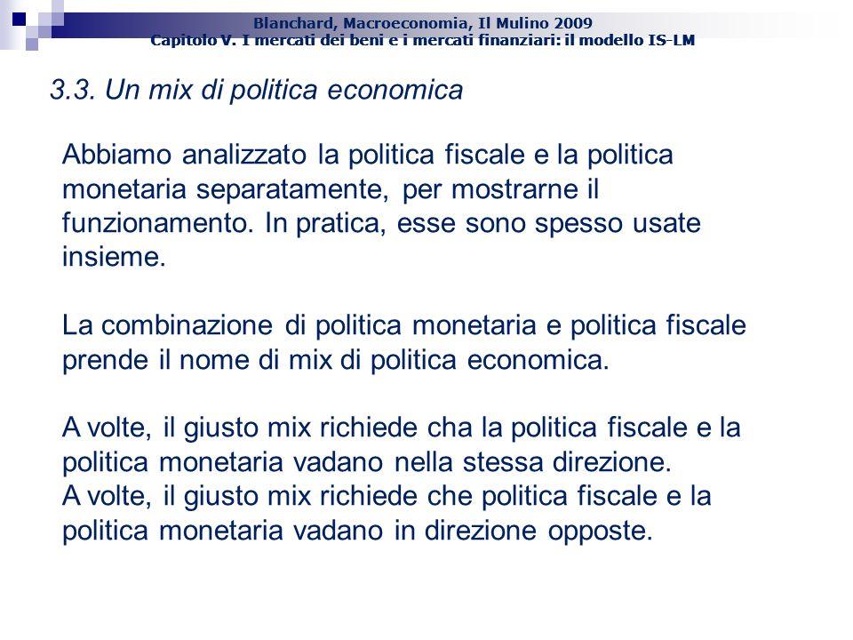 3.3. Un mix di politica economica