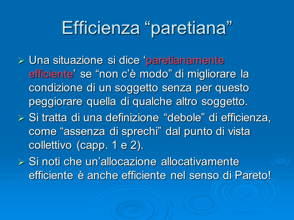Efficienza paretiana