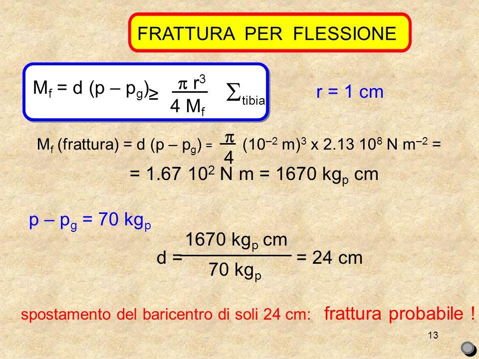 FRATTURA PER FLESSIONE