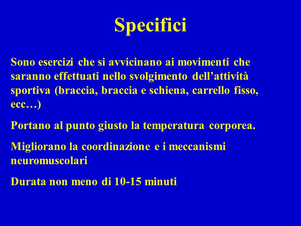 Specifici