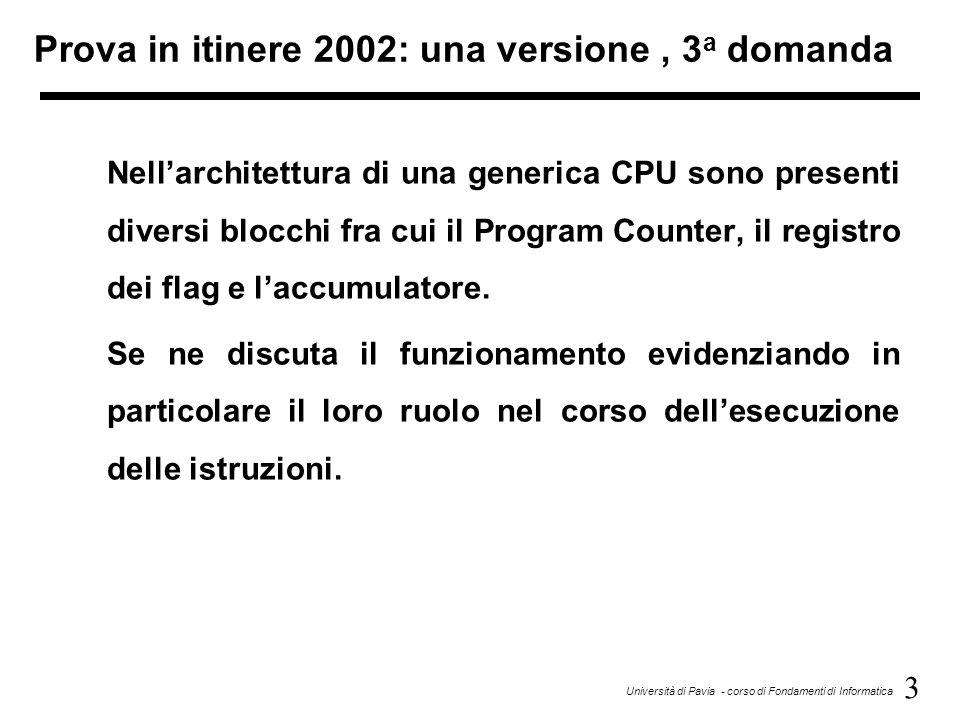 Prova in itinere 2002: una versione , 3a domanda