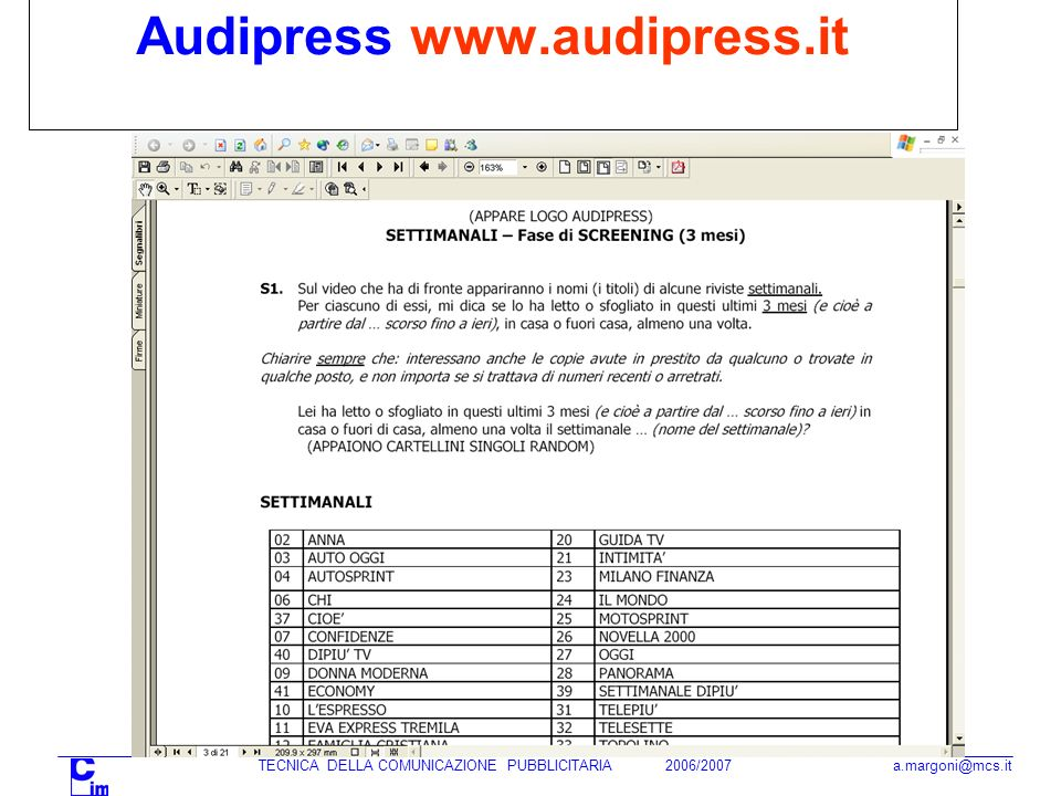 Audipress www.audipress.it