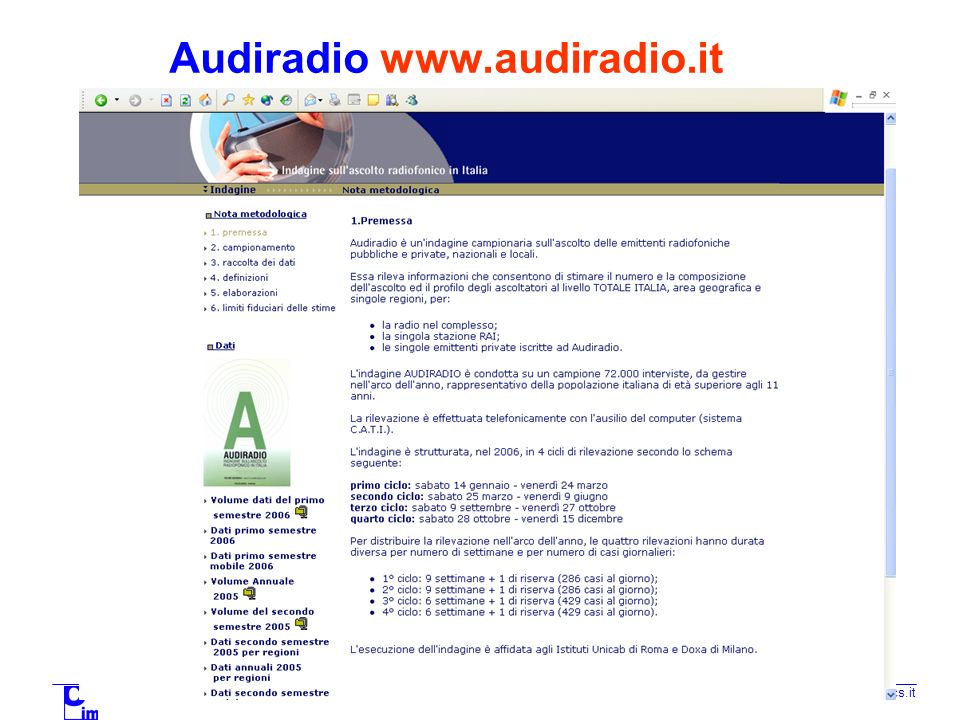 Audiradio www.audiradio.it