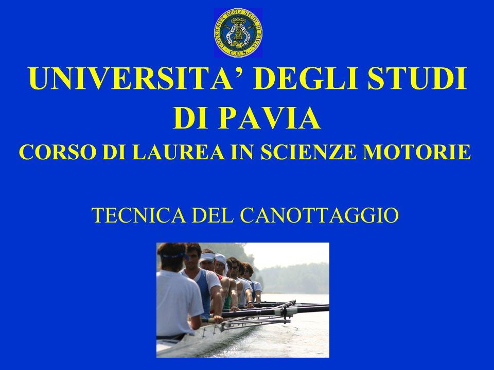 UNIVERSITA' DEGLI STUDI DI PAVIA
