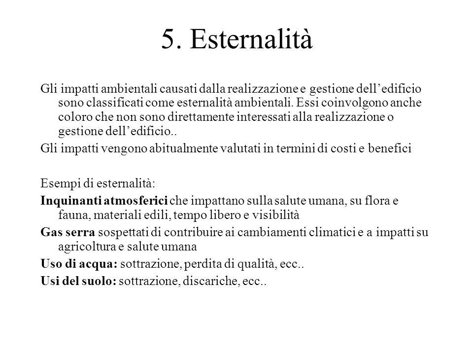 5. Esternalità