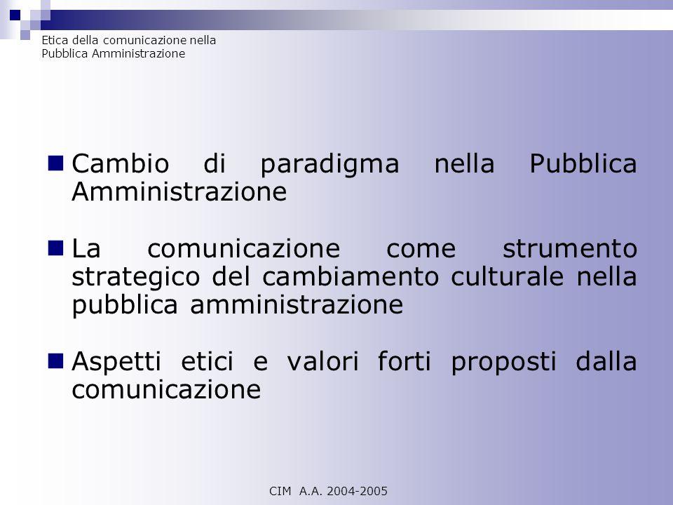 Cambio di paradigma nella Pubblica Amministrazione