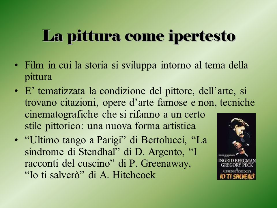 La pittura come ipertesto