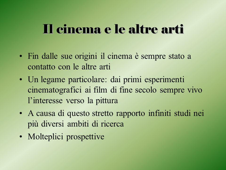 Il cinema e le altre arti