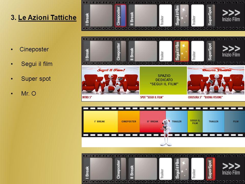 3. Le Azioni Tattiche Cineposter Segui il film Super spot Mr. O