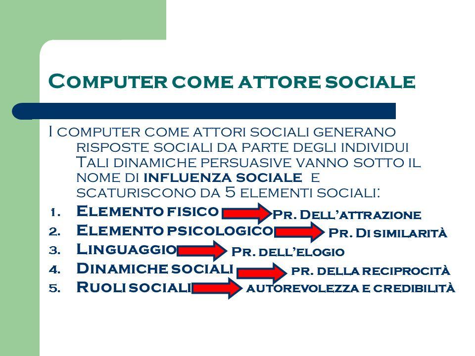 Computer come attore sociale