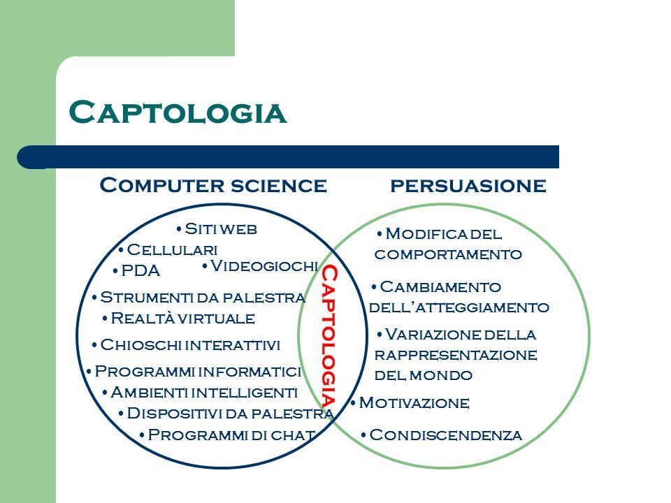 Captologia Computer science persuasione Captologia Siti web