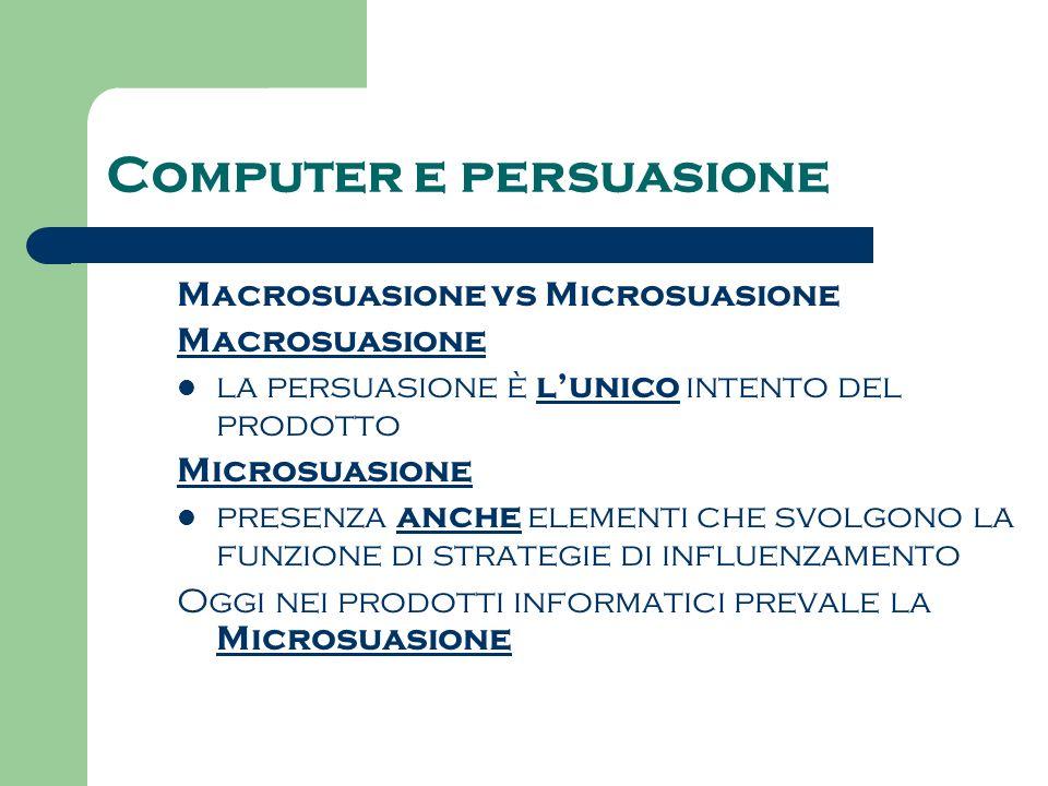 Computer e persuasione