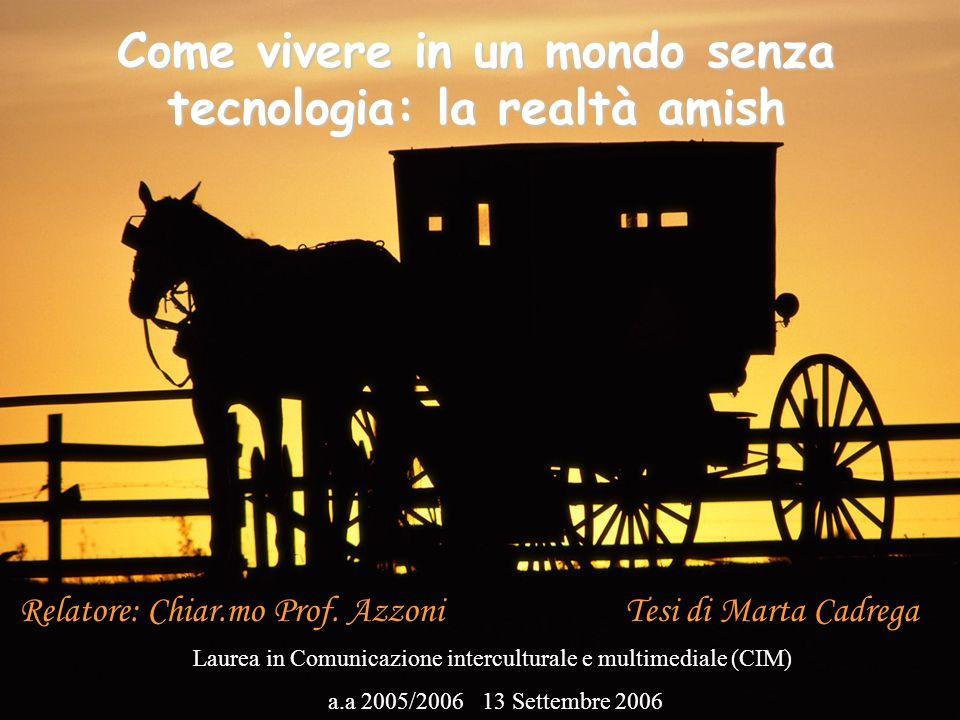 Come vivere in un mondo senza tecnologia: la realtà amish