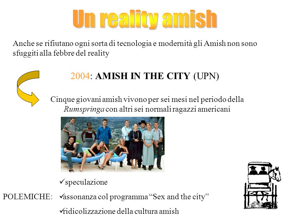 2004: AMISH IN THE CITY (UPN)