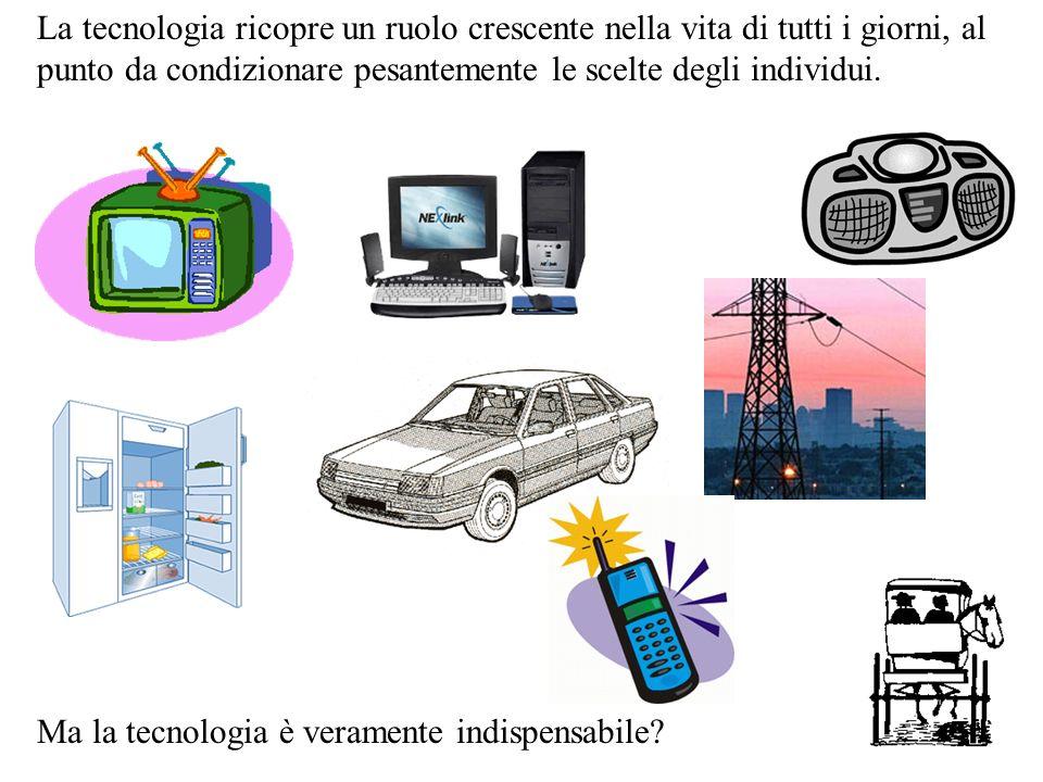 La tecnologia ricopre un ruolo crescente nella vita di tutti i giorni, al punto da condizionare pesantemente le scelte degli individui.