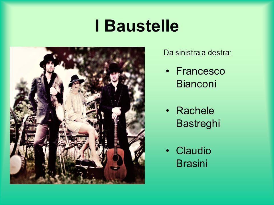 I Baustelle Francesco Bianconi Rachele Bastreghi Claudio Brasini
