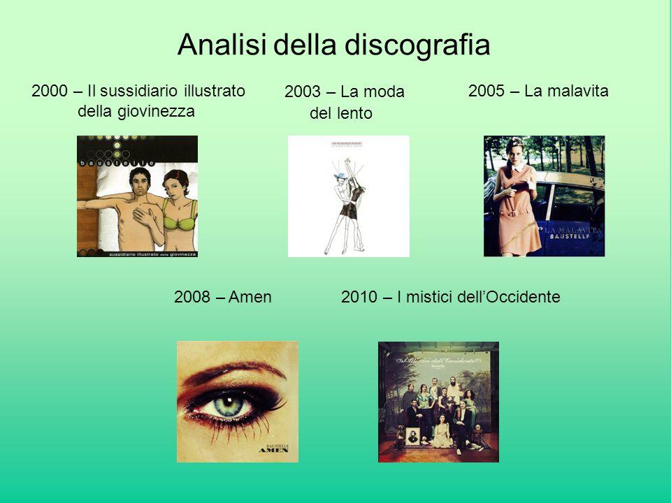 Analisi della discografia