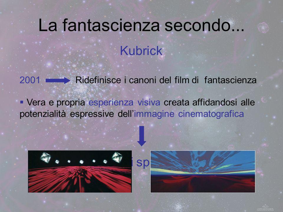 La fantascienza secondo...