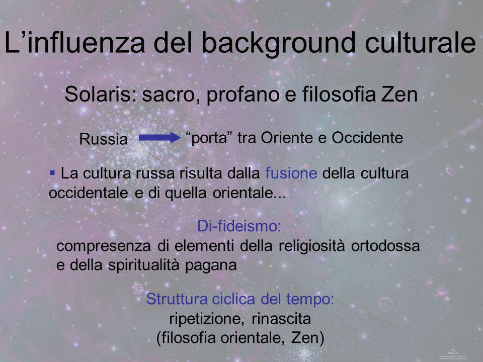 L'influenza del background culturale